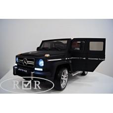 RiVer-AuTo Детский электромобиль Mercedes-Benz G63 (ЛИЦЕНЗИОННАЯ МОДЕЛЬ) с дистанционным управлением, р.Черный