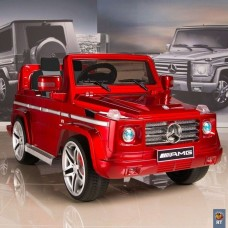 RT DMD-G55 Электромобиль Mercedes-Benz AMG NEW Version 12V R/C silver с резиновыми колесами (5037)