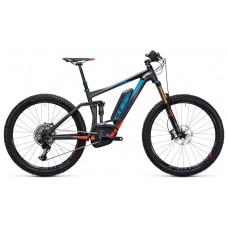 Двухподвесный велосипед cube stereo hybrid 140 hpa sl 500 27.5 (2017)