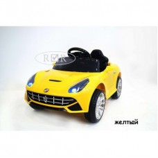 RiVer-AuTo Детский электромобиль Ferrari O222OO с дистанционным управлением, р.Желтый