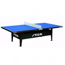 Теннисный стол тренировочный Stiga Super Outdoor синий