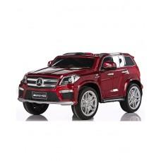 RiVer-AuTo Детский электромобиль Mercedes-Benz GL63 AMG (ЛИЦЕНЗИОННАЯ МОДЕЛЬ) с дистанционным управлением, р.Красный
