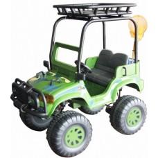 CHIEN TI Детский электромобиль с полным приводом CT-888 Backyard Safari (4x4) зеленый
