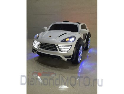 Электромобиль Rivertoys Porshe Cayenne Turbo О 001 ОО VIP белый
