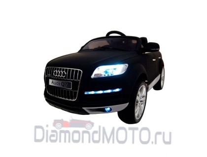 Электромобиль Rivertoys Audi Q7 черный матовый