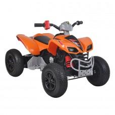 Электроквадроцикл 12V/10Ah*2 оранжевый