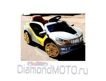 Электромобиль Rivertoys BMW O002OO серый