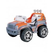 Электромобиль Kids cars ZP5199 Джип оранжевый с серым