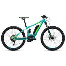 Двухподвесный велосипед cube sting wls hybrid 120 sl 500 27.5 (2017)