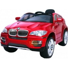 R-toys 258 Электромобиль BMW X6 12V R/C blue metallic