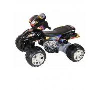 Квадроцикл RiverToys Quatro RD 203 черный с резиновыми колесами