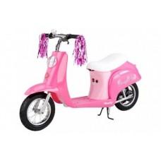 Razor Электроскутер для девочек Pocket Mod Bella Sweet Pea (электромотоцикл)