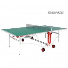 Всепогодный Теннисный стол Donic Outdoor Roller De Luxe (зелёный)