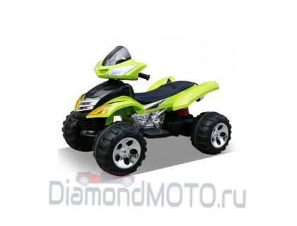 Электроквадроцикл RiverToys Е005КХ зеленый