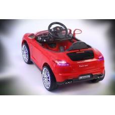 Porsche Panamera A444AA (кожа) с дистанционным управлением красный