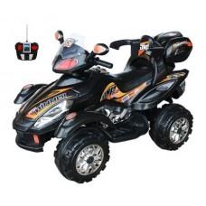 TjaGo Детский квадроцикл Winner на аккумуляторе 903FS с пультом управления, черный