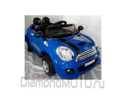 Электромобиль Rivertoys E777KX синий