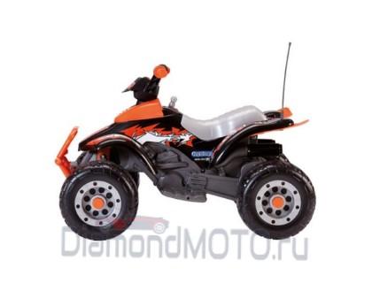Электромобиль - Квадроцикл Peg-Perego Corral T-Rex оранжевый