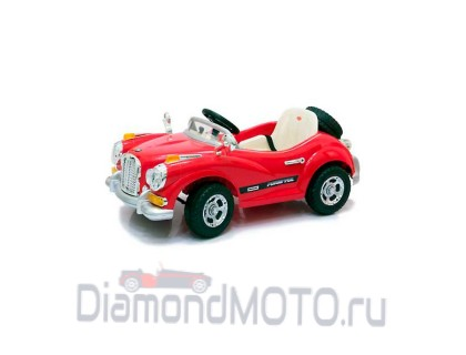 Электромобиль Jetem Limousine 12В 2-х моторный красный
