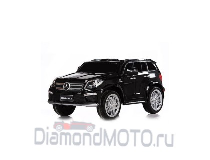 Электромобиль Rivertoys Mercedes-Benz GL63 черный