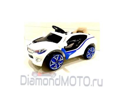 Электромобиль BMW O002OO белый Rivertoys