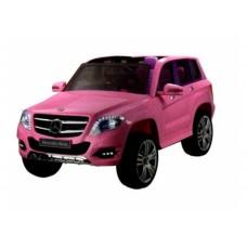 RiVer-AuTo Детский электромобиль Mercedes-Benz GLK300 (ЛИЦЕНЗИОННАЯ МОДЕЛЬ) с дистанционным управлением, р.Розовый