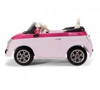 Электромобиль на р/у Peg-Perego Fiat 500 розовый