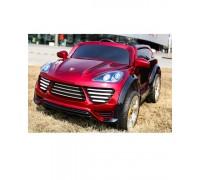 Электромобиль Rivertoys Porshe Cayenne Turbo О 001 ОО VIP красный
