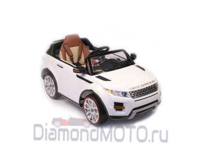 Электромобиль RiverToys Range Rover А111АА белый VIP