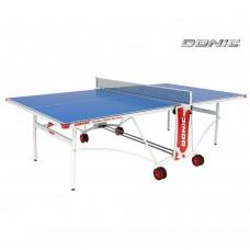 Всепогодный Теннисный стол Donic Outdoor Roller De Luxe (синий)
