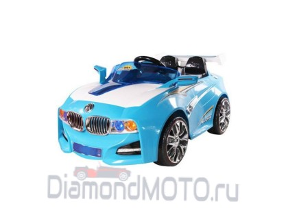 Электромобиль TjaGo BMW Solar System голубой