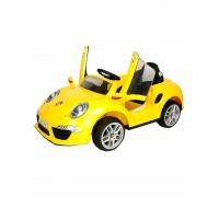 Электромобиль Rivertoys Porsche E911KX желтый