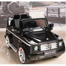 VIP Toys DMD-G55 Электромобиль Mercedes-Benz AMG NEW Version 12V R/C black с резиновыми колесами + подарок