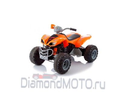 Электромобиль-квадроцикл Jetem Scat 2-х моторный оранжевый