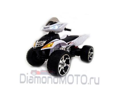 Электроквадроцикл RiverToys Е005КХ белый