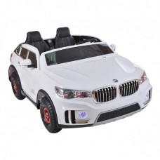 Электромобиль Shine Ring 2x12V/10Ah (2x35w, сиденье кожа*2) (Белый) WHITE SR998
