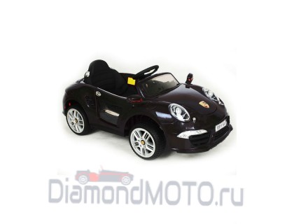 Электромобиль Rivertoys Porsche E911KX черный