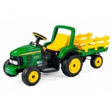 Peg-Perego Детский электромобиль ED1167 JD Power Pull Tractor