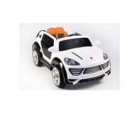 Электромобиль Rivertoys Porshe Cayenne Turbo О001ОО Vip Restyling белый