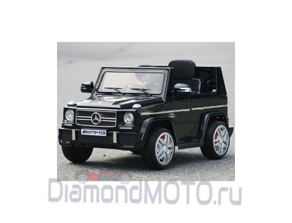 Электромобиль RiverToys Mersedes-Bens G65 черный глянец