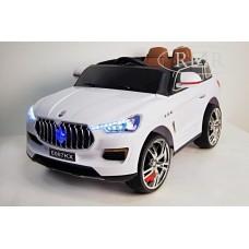 RiVer-AuTo Детский электромобиль Maserati E007KX с дистанционным управлением, р.Белый