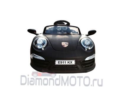Электромобиль Rivertoys Porsche E911KX черный матовый
