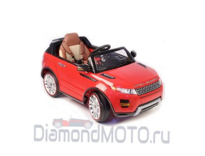 Электромобиль RiverToys Range Rover А111АА красный VIP