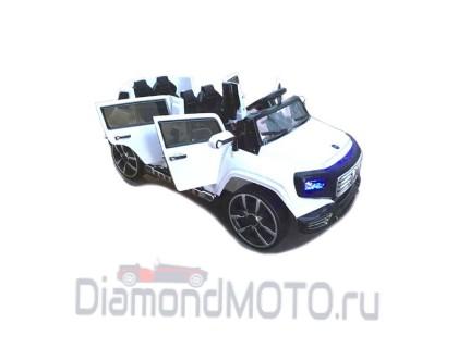 Электромобиль Mers A555AA белый (Лимузин) Rivertoys