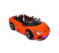 Электромобиль RiverToys Lambo LS-518 оранжевый