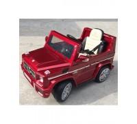 Электромобиль RiverToys Mersedes-Bens G65 красный глянец