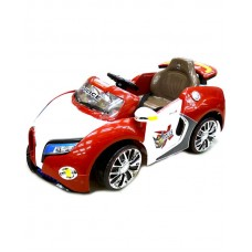 Электромобиль TjaGo Bugatti красно-белый