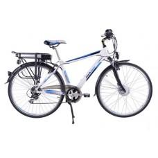 Электровелосипед GW2008 Велосипед BLACK AQUA E-Road 700С 7s