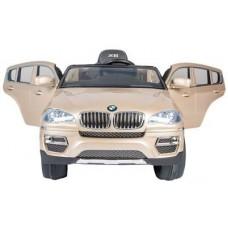 VIP Toys JJ258 Электромобиль BMW X6 с пультом - золотой