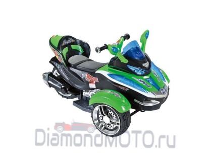 Трицикл RiverToys С001СР зеленый